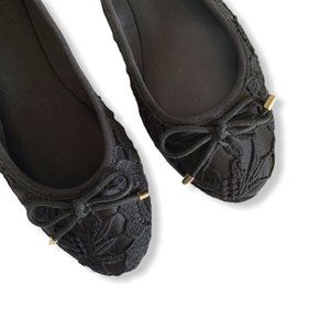 Fergalicious Frolic embroidered Ballet Flats